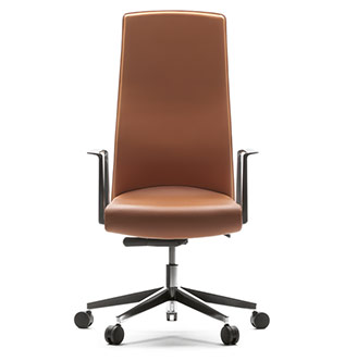 Muga Fixed high back executive chair